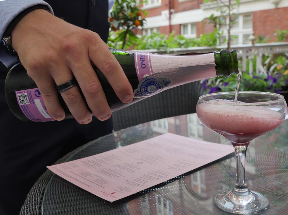 Pink cocktails - St Ermins Hotel