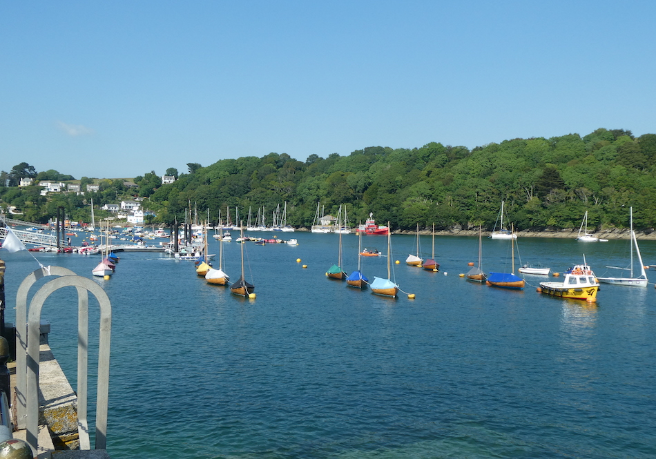 River Fowey from the Town Quay Fowey
