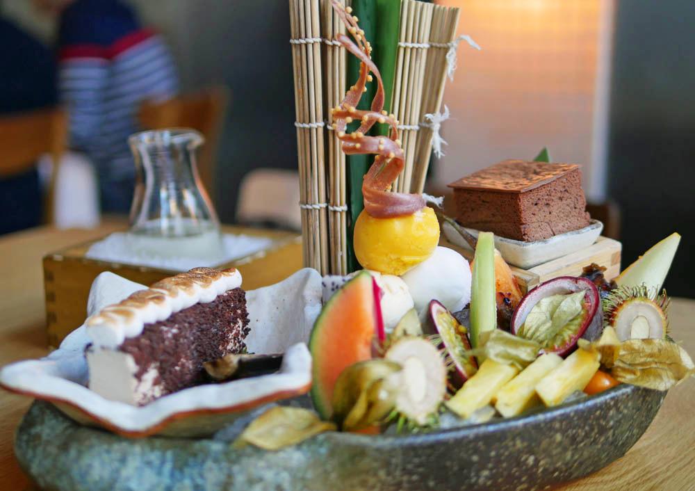 Roka Charlotte Street Dessert Platter