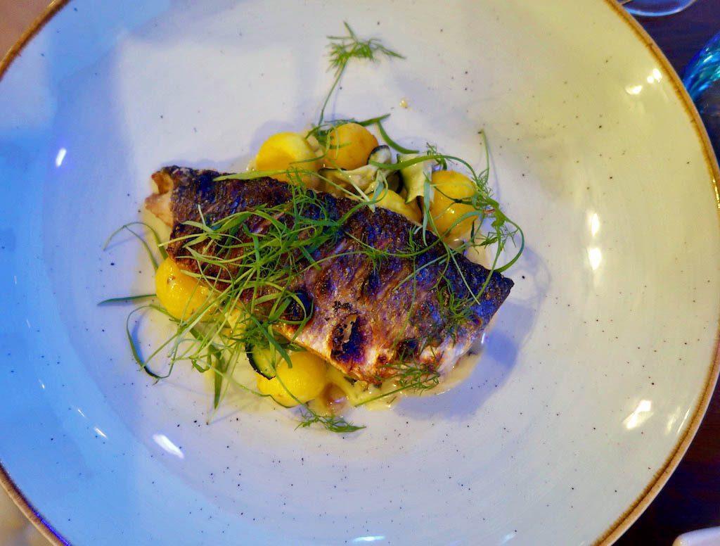 Sea-Bass-with-saffron-pommes-noisettes