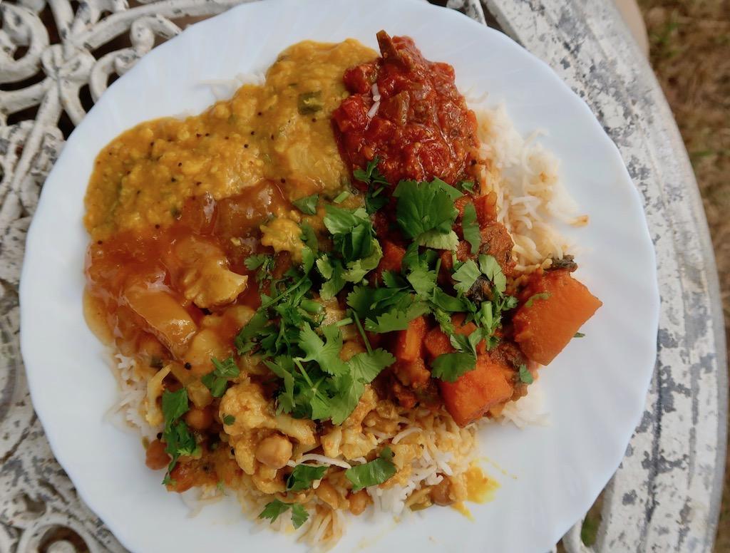 The Hothouse - veg thali