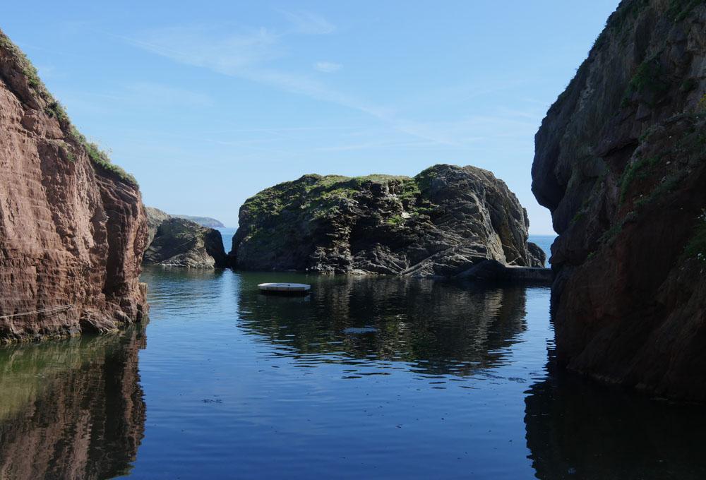 The Mermaid Pool Burgh Island