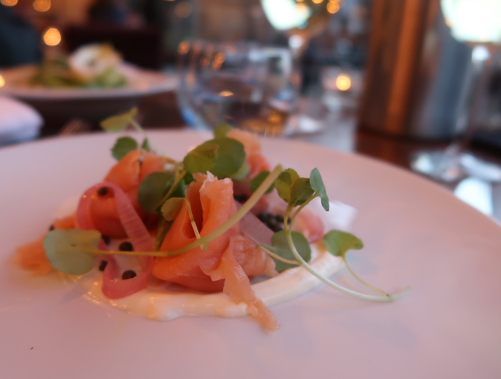 smoked salmon & capers