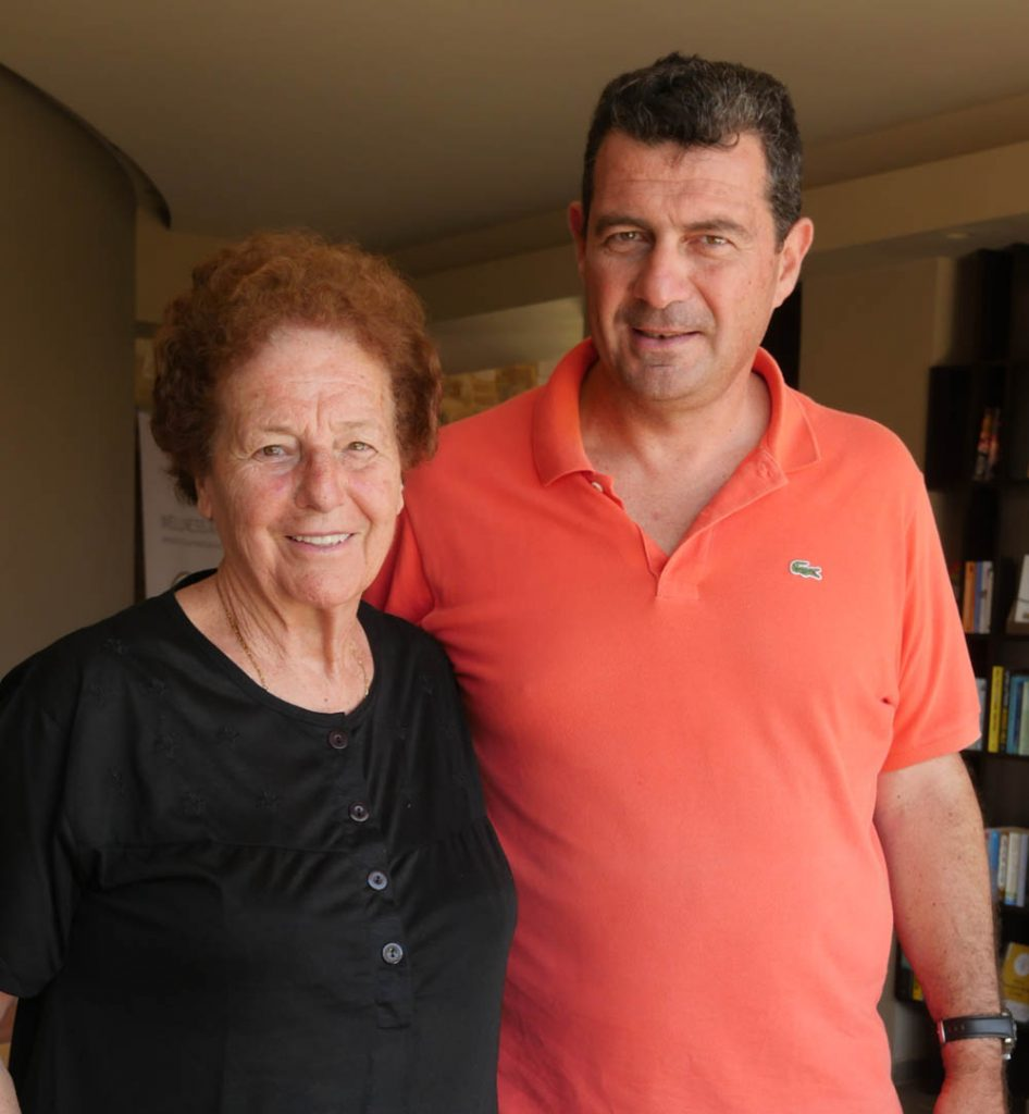 Vassilis and Mama Katarina Mistral