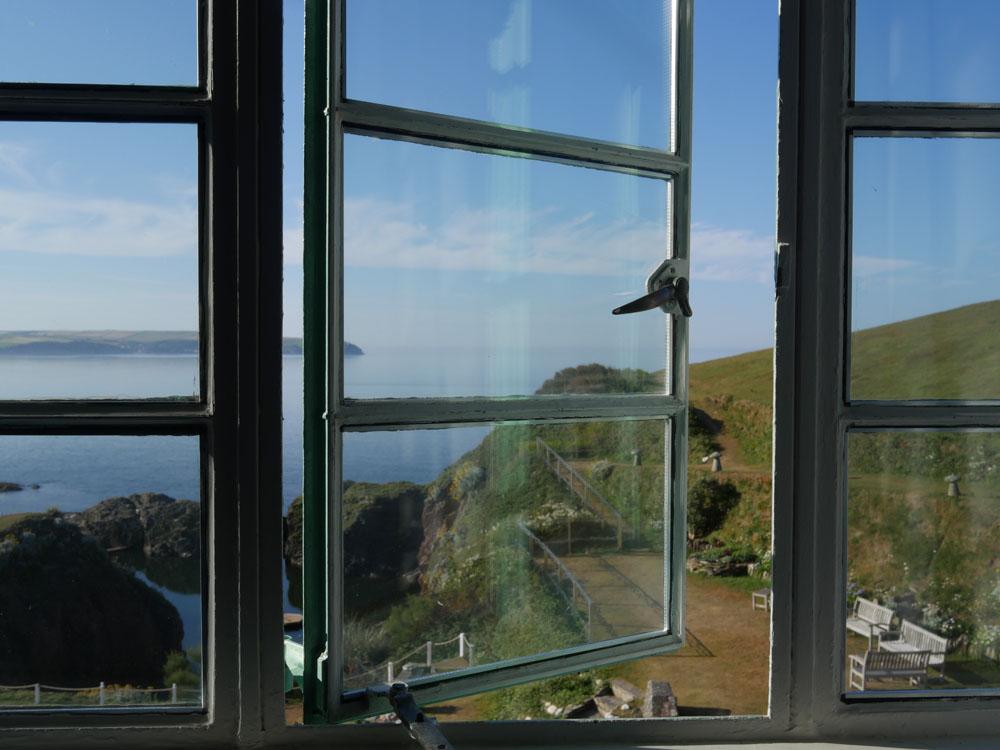 View Burgh Island Hotel