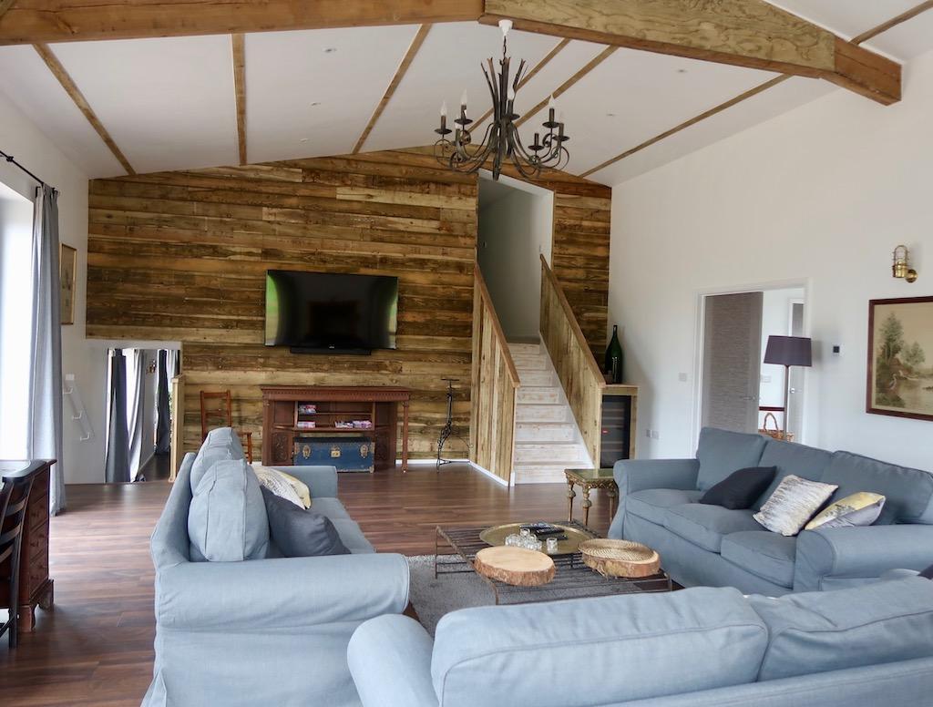Wild Oak Barn - Ottery St Mary - sitting room