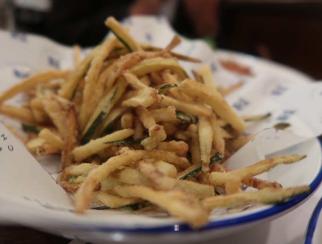 Zuccini fritti