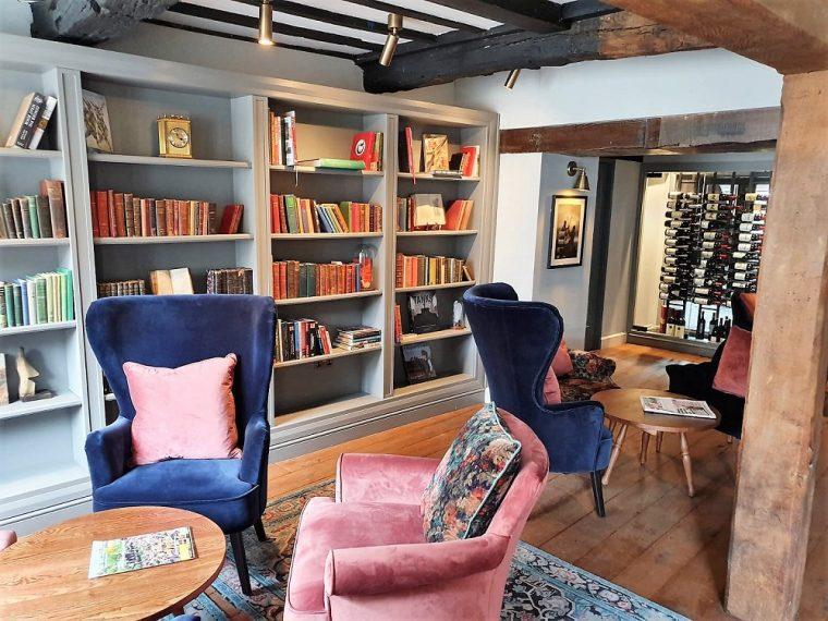 lounge at hotel indigo stratford upon avon