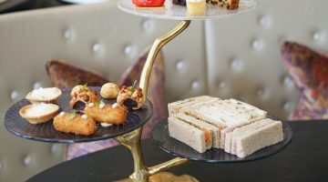 Afternoon Tea Tower - Adam Handling at the Cadogan