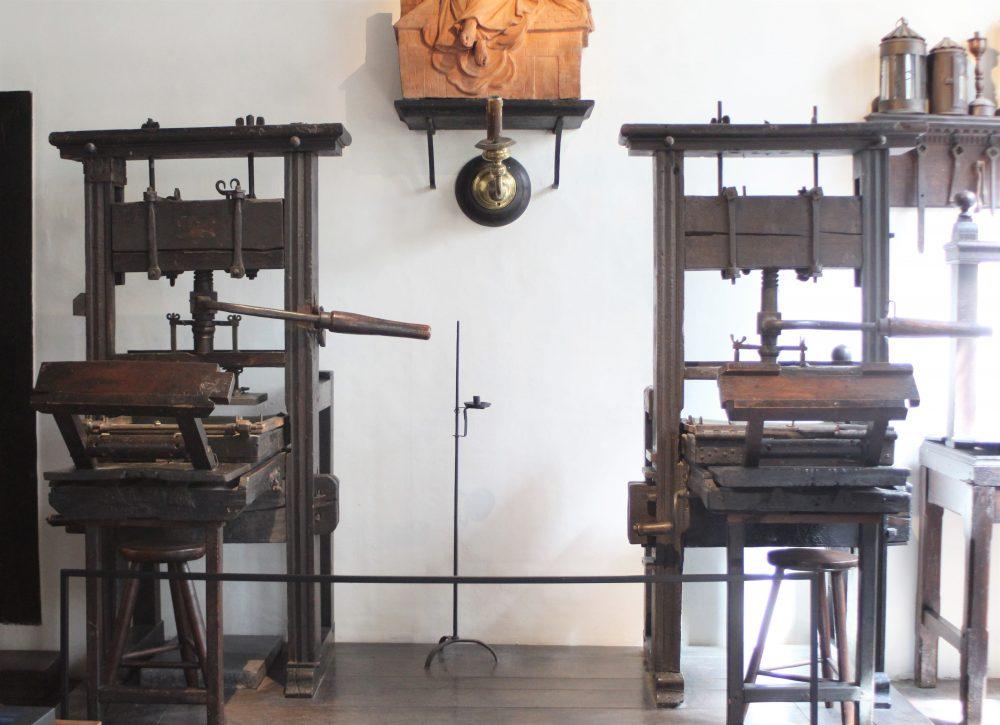 Antwerp, Plantin-Moretus printing presses