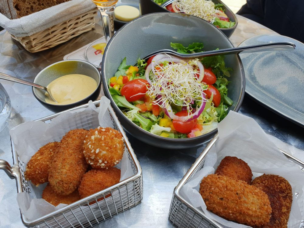 Antwerp croquettes at Smaeck