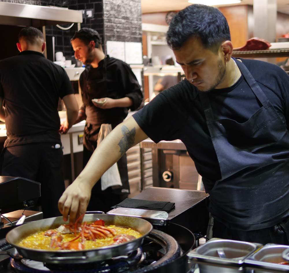 Arroz QD Lobster Paella