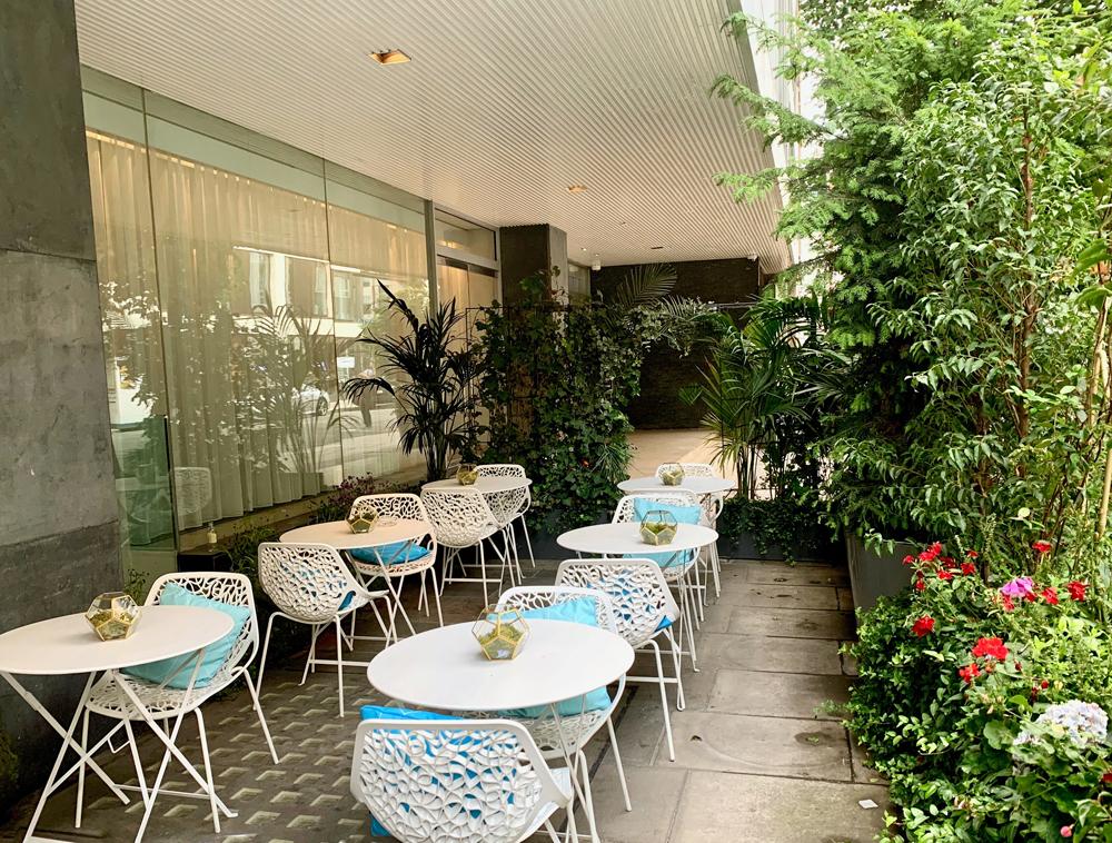 Berners Terrace Sanderson Hotel