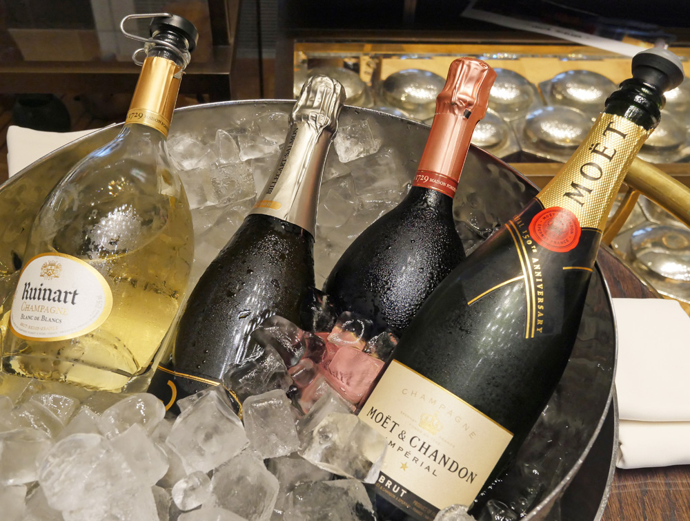 Champagne Mandarin Oriental London