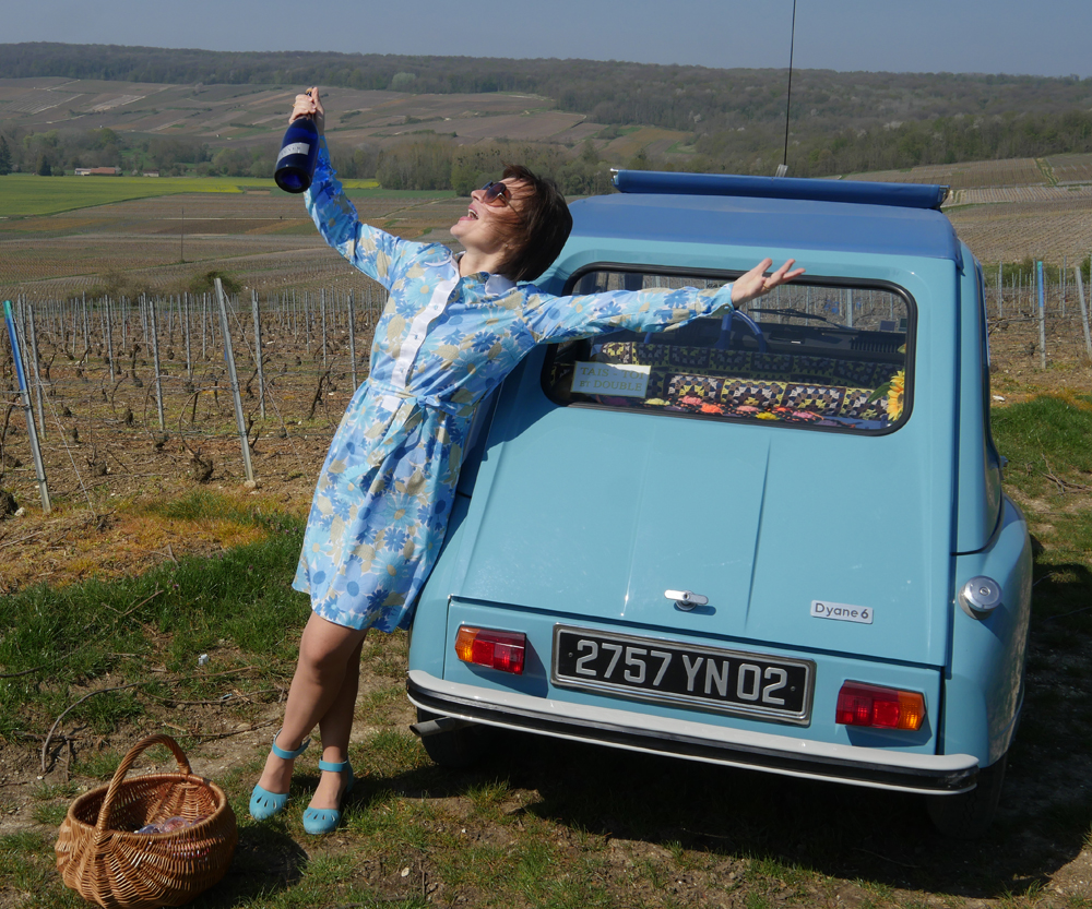 Champagne Meteyer - Anna in the Vineyard
