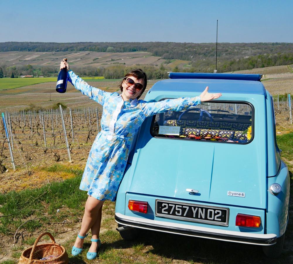 Champagne Meteyer - Vineyard Tour