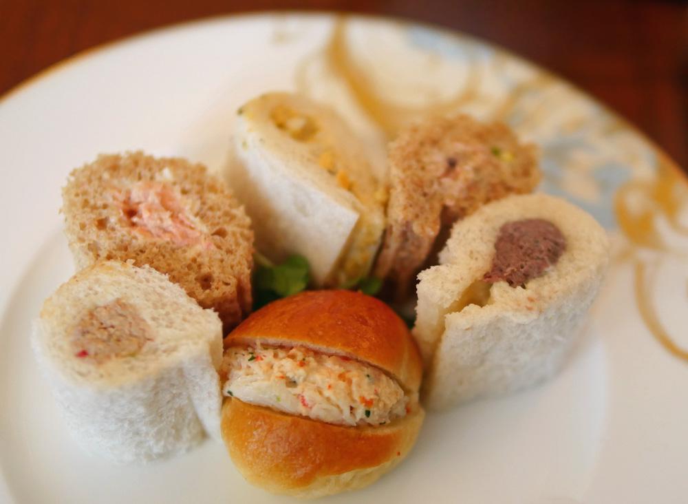Finger Sandwiches Rosebery Lounge Mandarin Oriental London