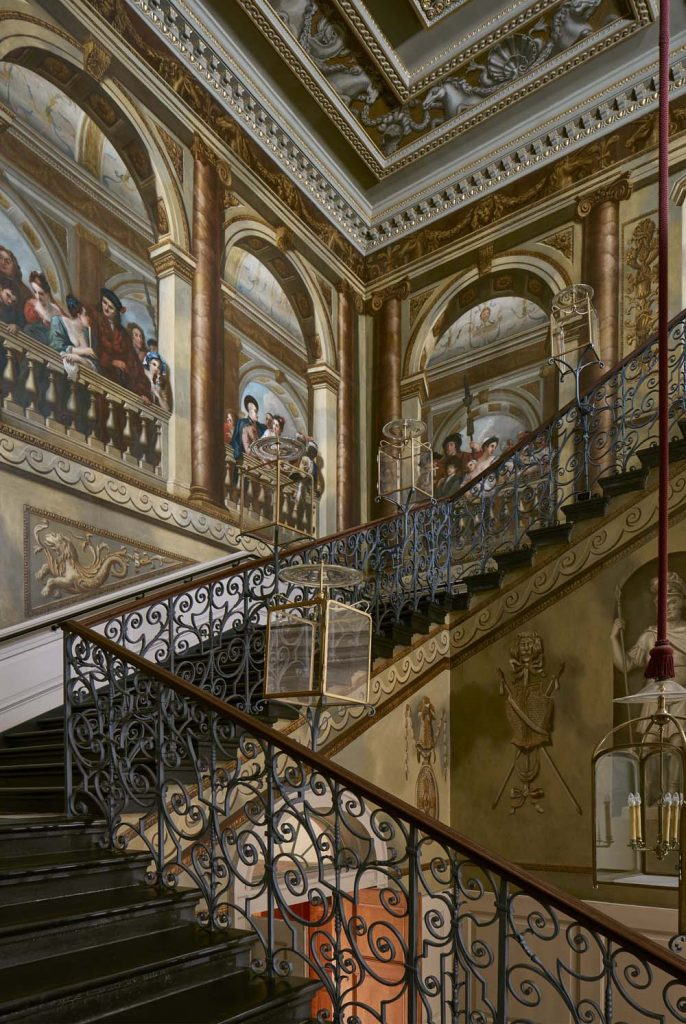 Kensington Palace,William Kent (1685-1748),1724,The King's Staircase, looking north east