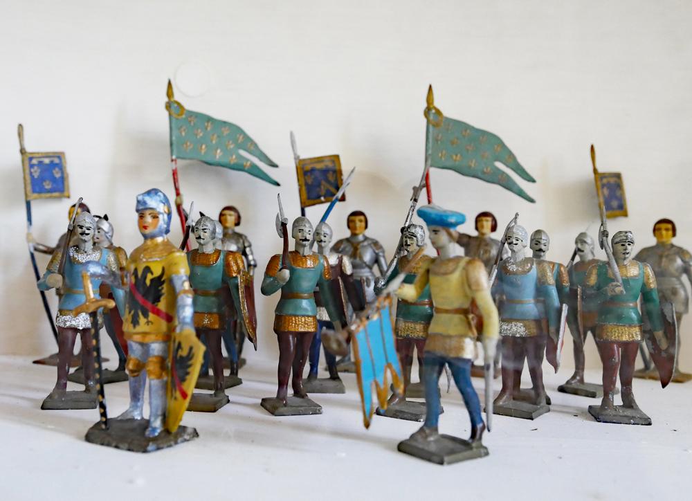 Lead Soldiers - Chateau de Conde