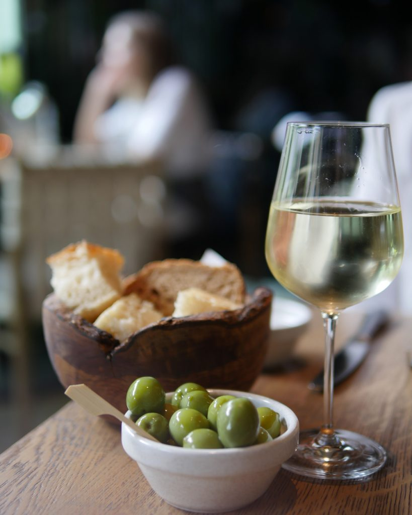Olives Bread and Wine - Fucina