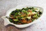Oven Steamed Asian Seabass