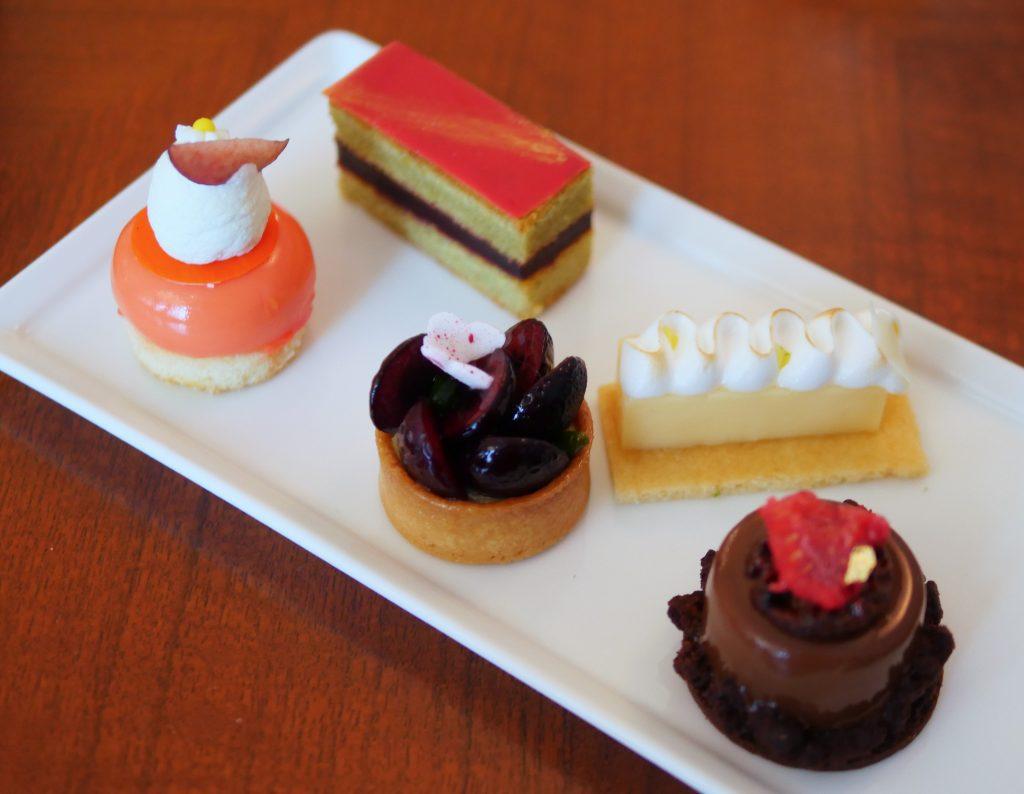 Pastries Mandarin Oriental Rosebery Lounge