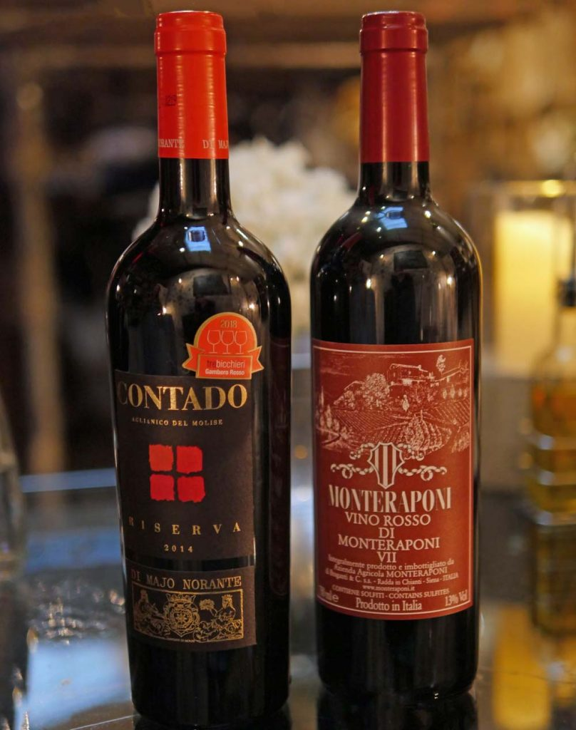 Red Wines at Bottles and Battles