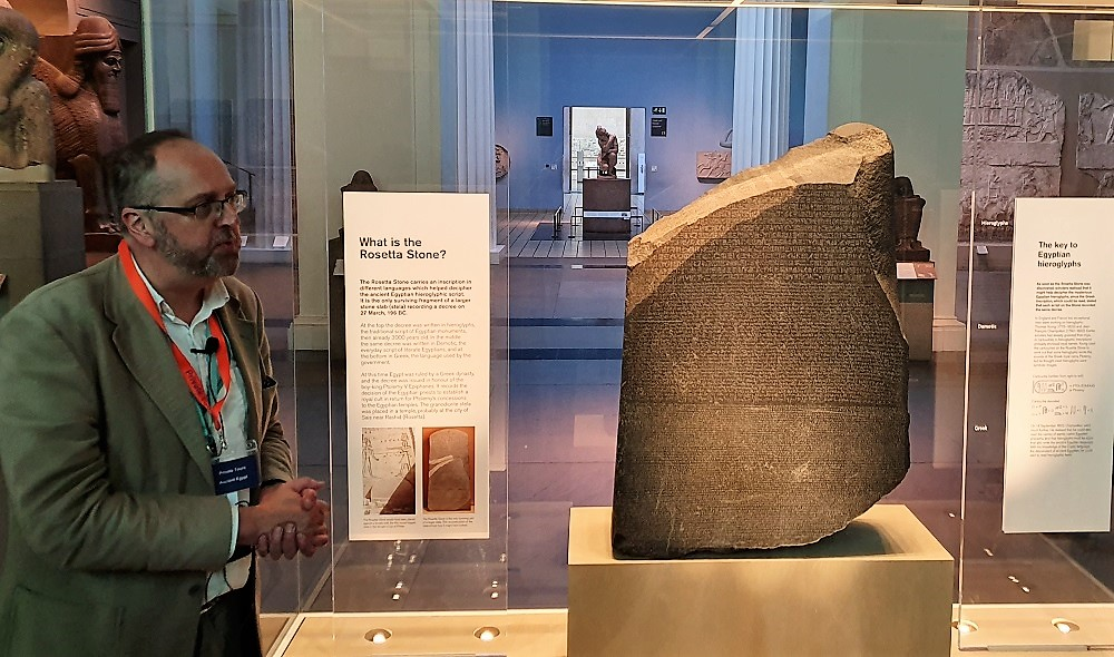 Rosetta Stone - with guide.