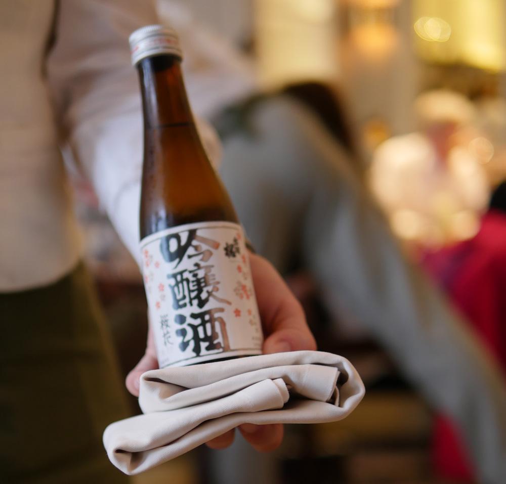 Sake Pairing Mandarin Oriental 2