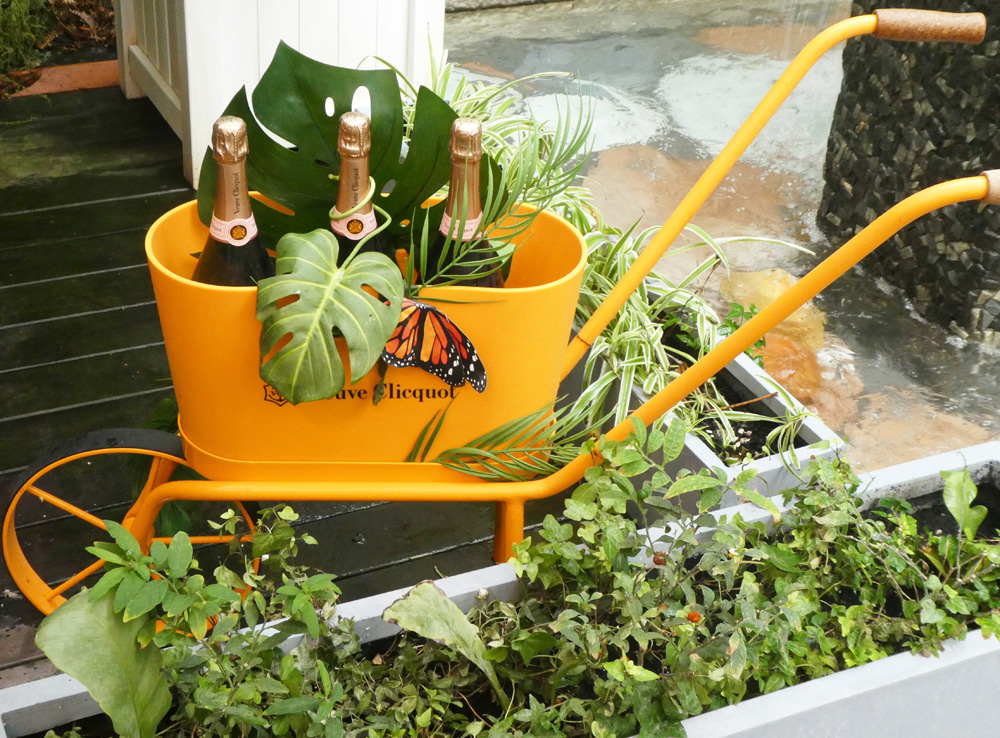 Sanderson - Veuve Clicquot Wheelbarrow