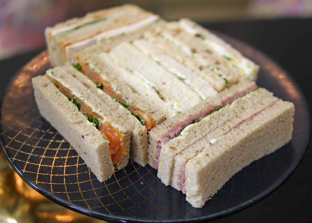 Sandwiches Afternoon Tea Adam Handling
