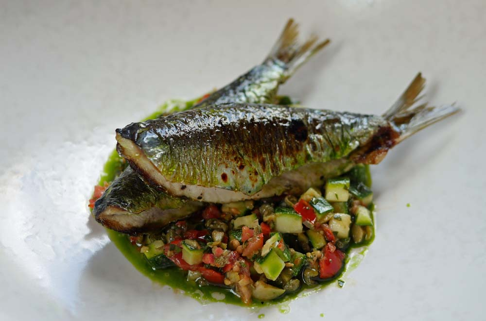 Sardines - Wild Honey at St James