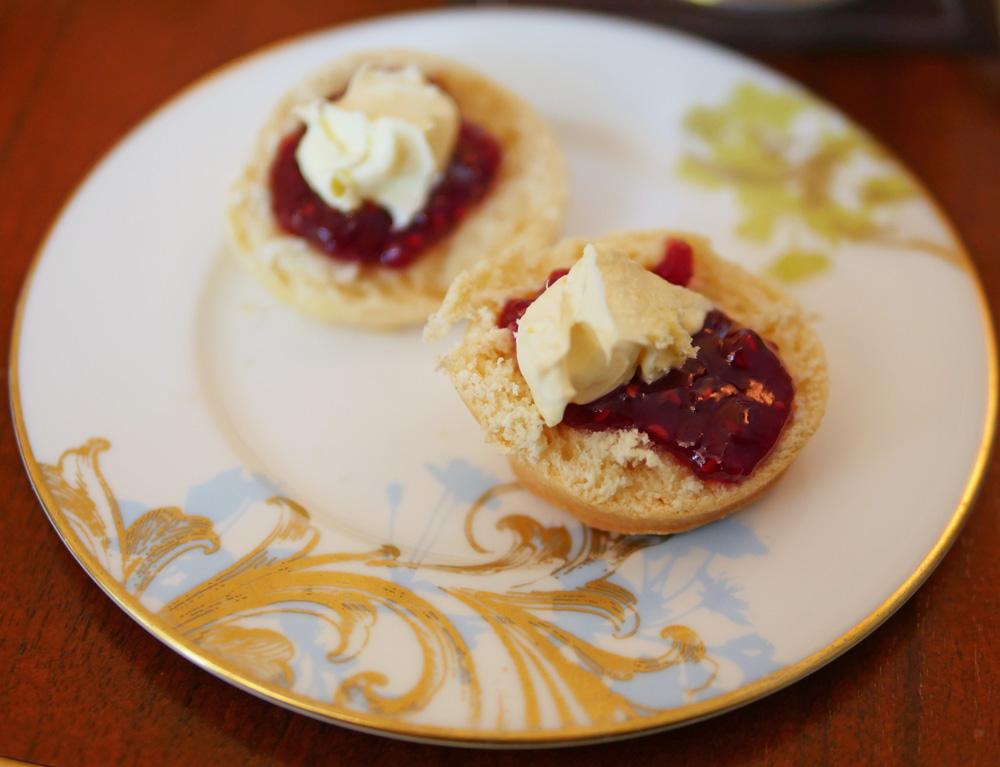 Scones and Cream with jam