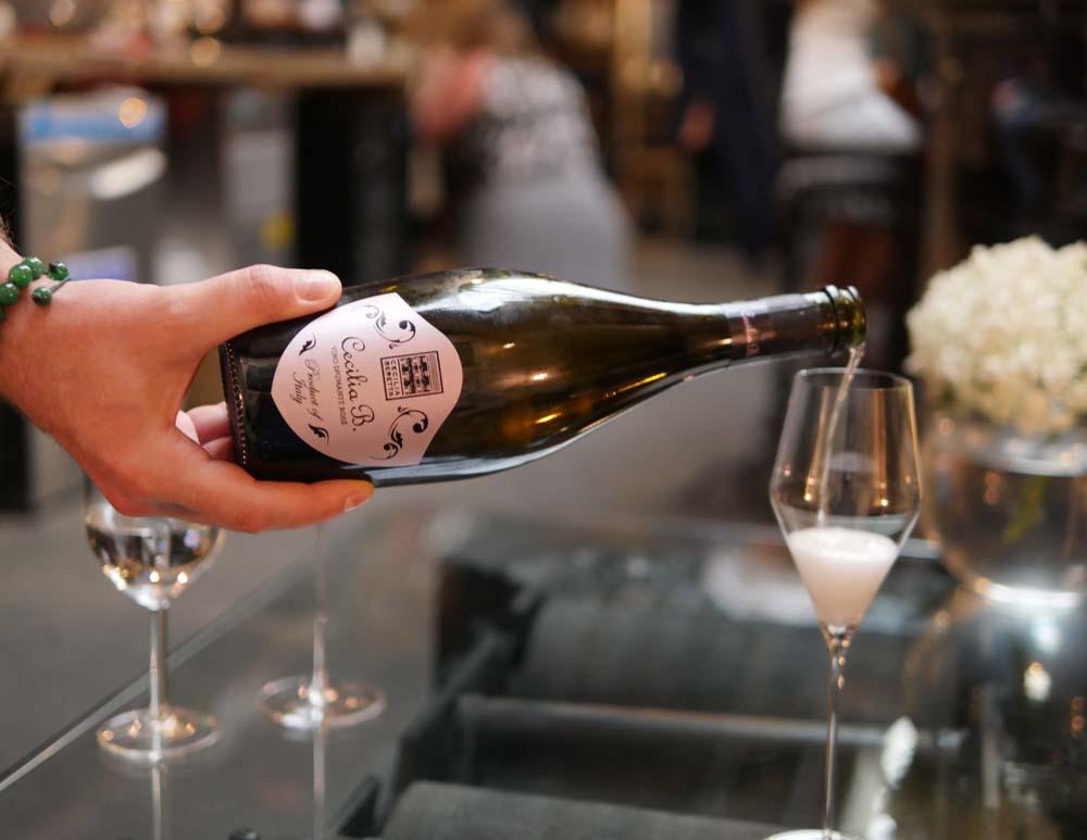 Sparkling wine from Veneto at Bottles & Battles Italian wine bar