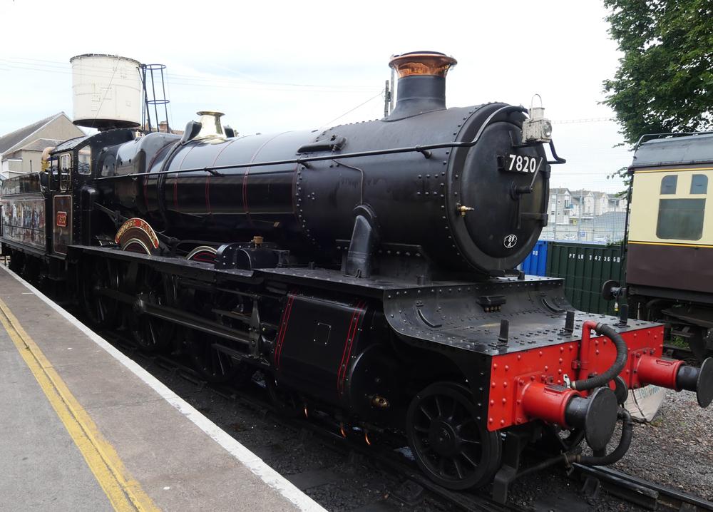 Steam Train at Paignton