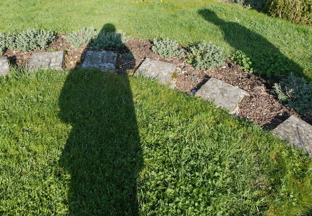 Sundial at Jardins de Viels Maisons