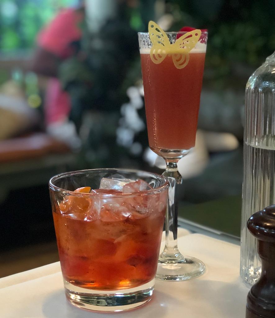 The Ivy Kensington Brasserie - cocktails