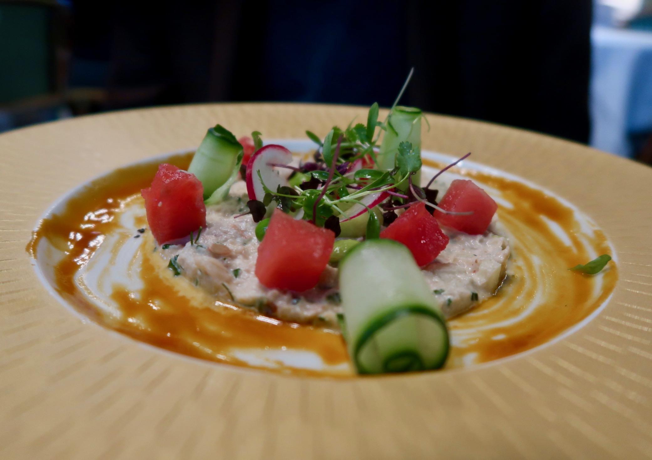 The Ivy Kensington Brasserie crab & aplle salad