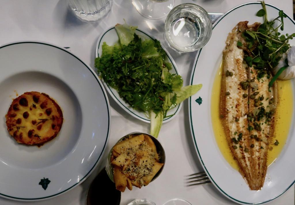 The Ivy Kensington Brasserie - dinner