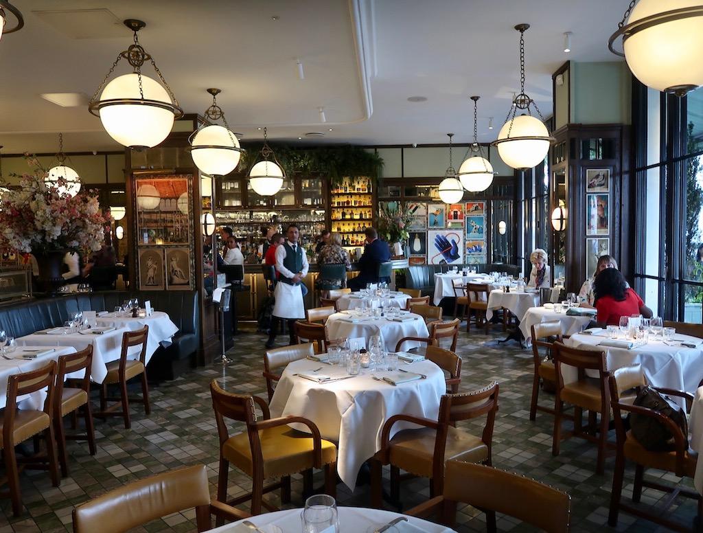 The Ivy Kensington Brasserie interior
