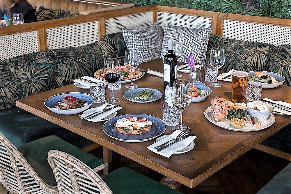 The Waterside - interior - set table