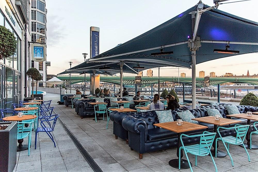 The-Waterside-Fulham -terrace-area