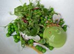 Wild Honey at St James Pea Salad