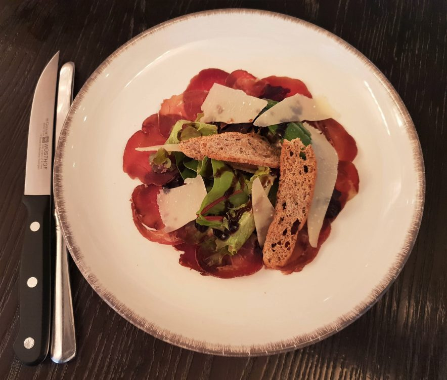 The Jugged Hare - City of London - White Park Bresaola