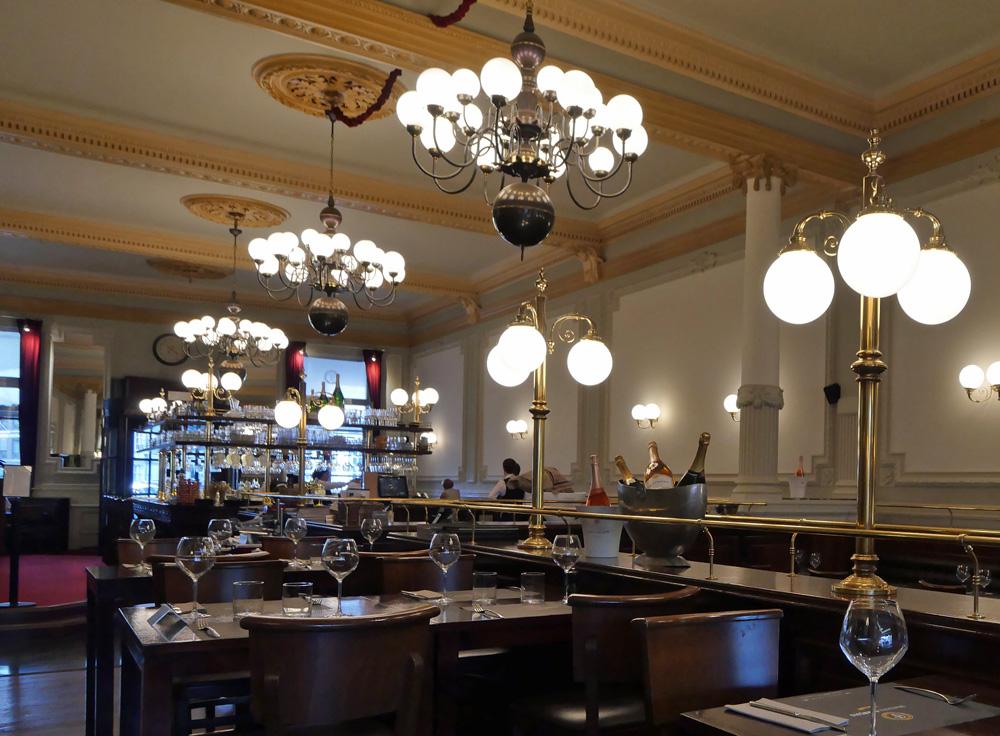 Brasserie Francois Namur - interior