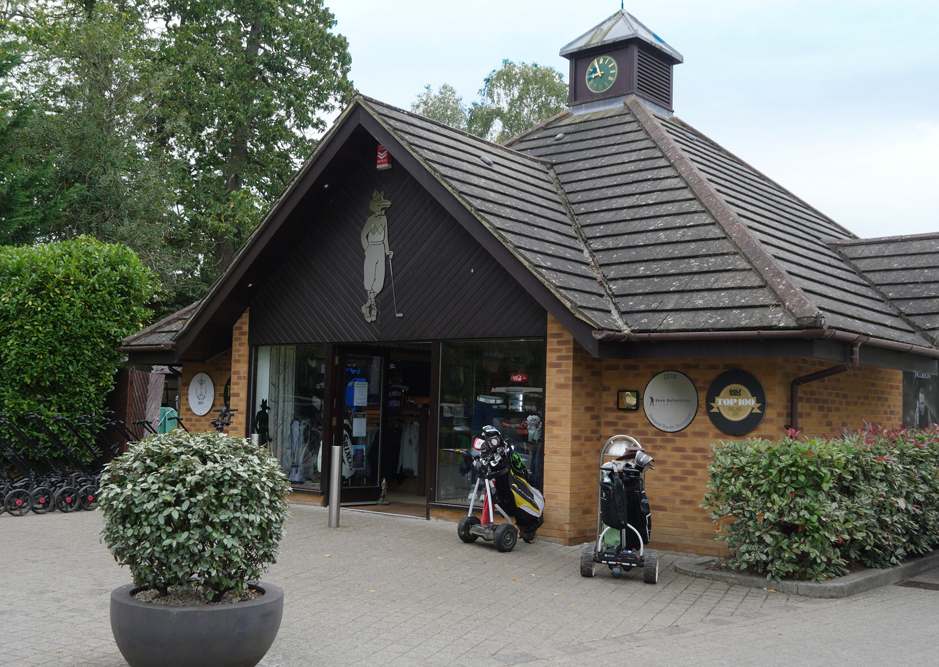 Golf shop at Foxhills