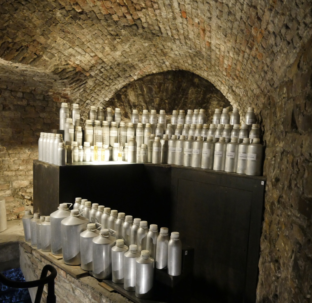Guy Delforge essences - Namur Citadel