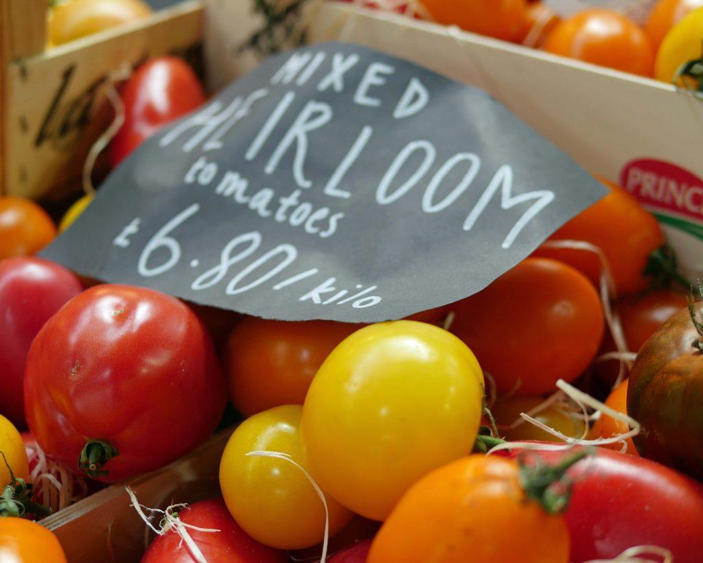 Heirloom Tomatoes - Turnips Borough Market