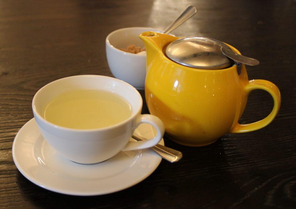 The Jugged Hare mint tea