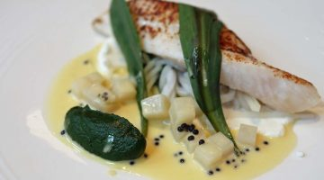 John Dory - Adam Simmonds at the Capital